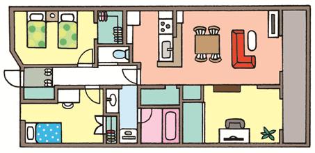 マンションで、ファミリータイプが多いのは「新築」
