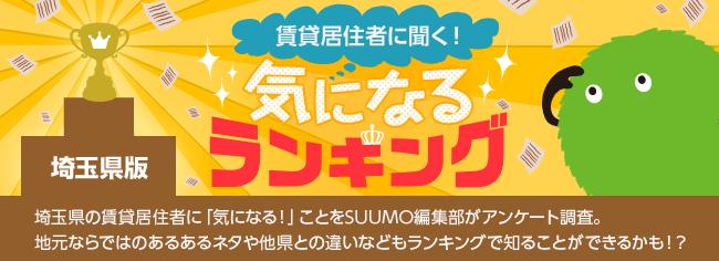 埼玉県版 気になるランキング『あなたの住む地方で2番目に都会だと思う都道府県は?』