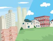 都心VS郊外 あなたに合う暮らしはどっち?実例を紹介!