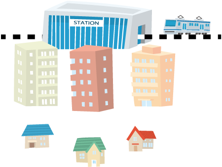 『マンション』の資産価値は、利便性に左右される