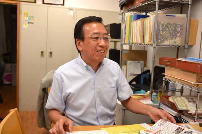 NPOまちづくり大井の加藤雅之事務局長