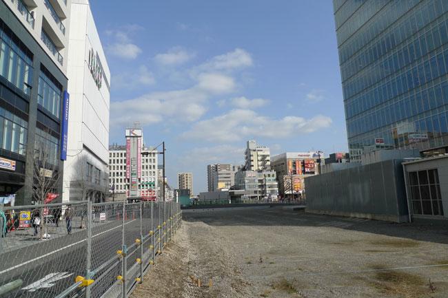2017年には商業ビルが3棟立つ予定