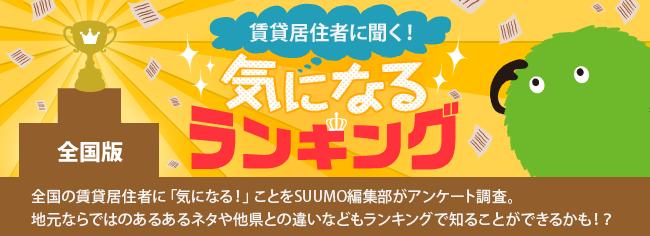 全国版 気になるランキング『あなたの住む都道府県で人気のあるスポーツは?』