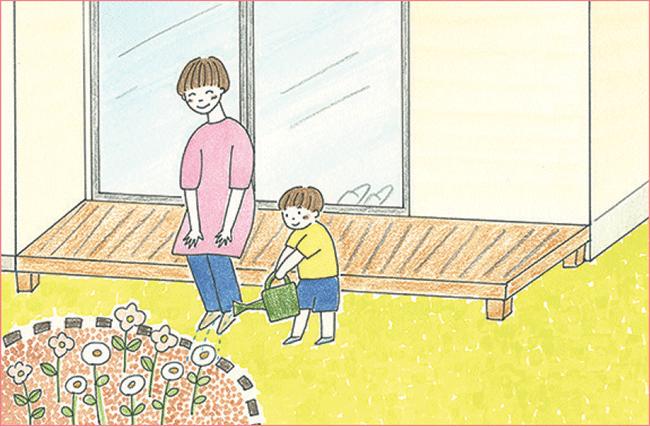 草木を育てたり、DIYができる庭やバルコニー