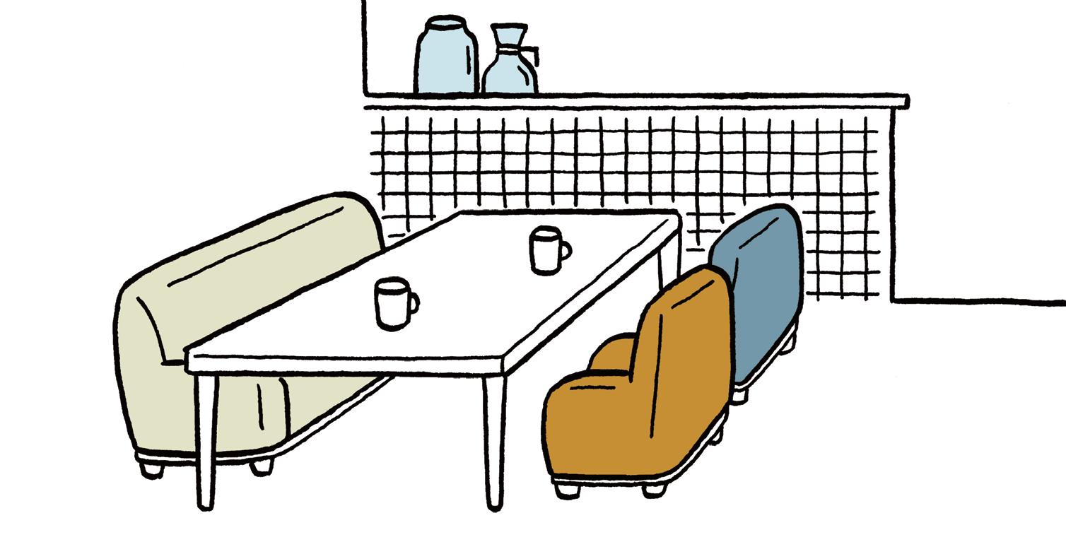 ひとつの家具を複数用途に兼用する