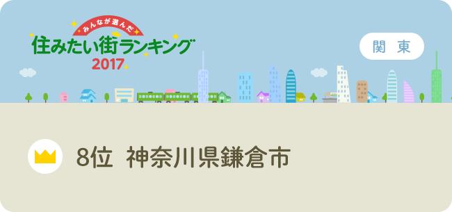 8位 神奈川県鎌倉市