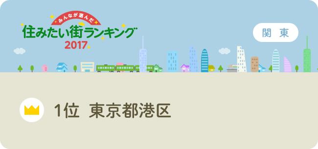 総合1位 東京都港区 ~住みたい...