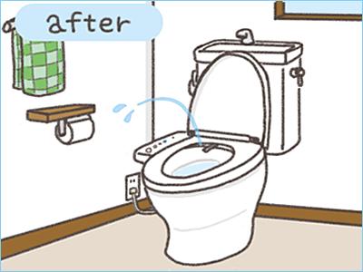 トイレ 便座 のみ 交換 費用