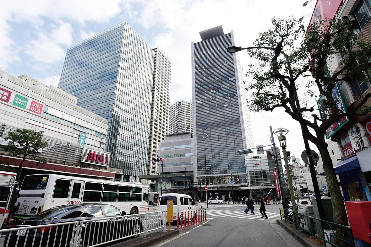 目黒駅は駅前再開発でマンションが建設