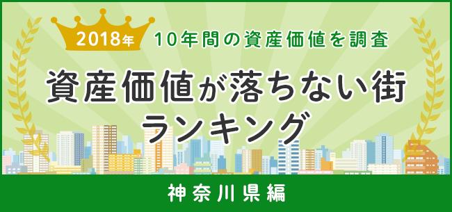資産価値が落ちない街ランキング2018 10年間の資産価値を調査~神奈川編