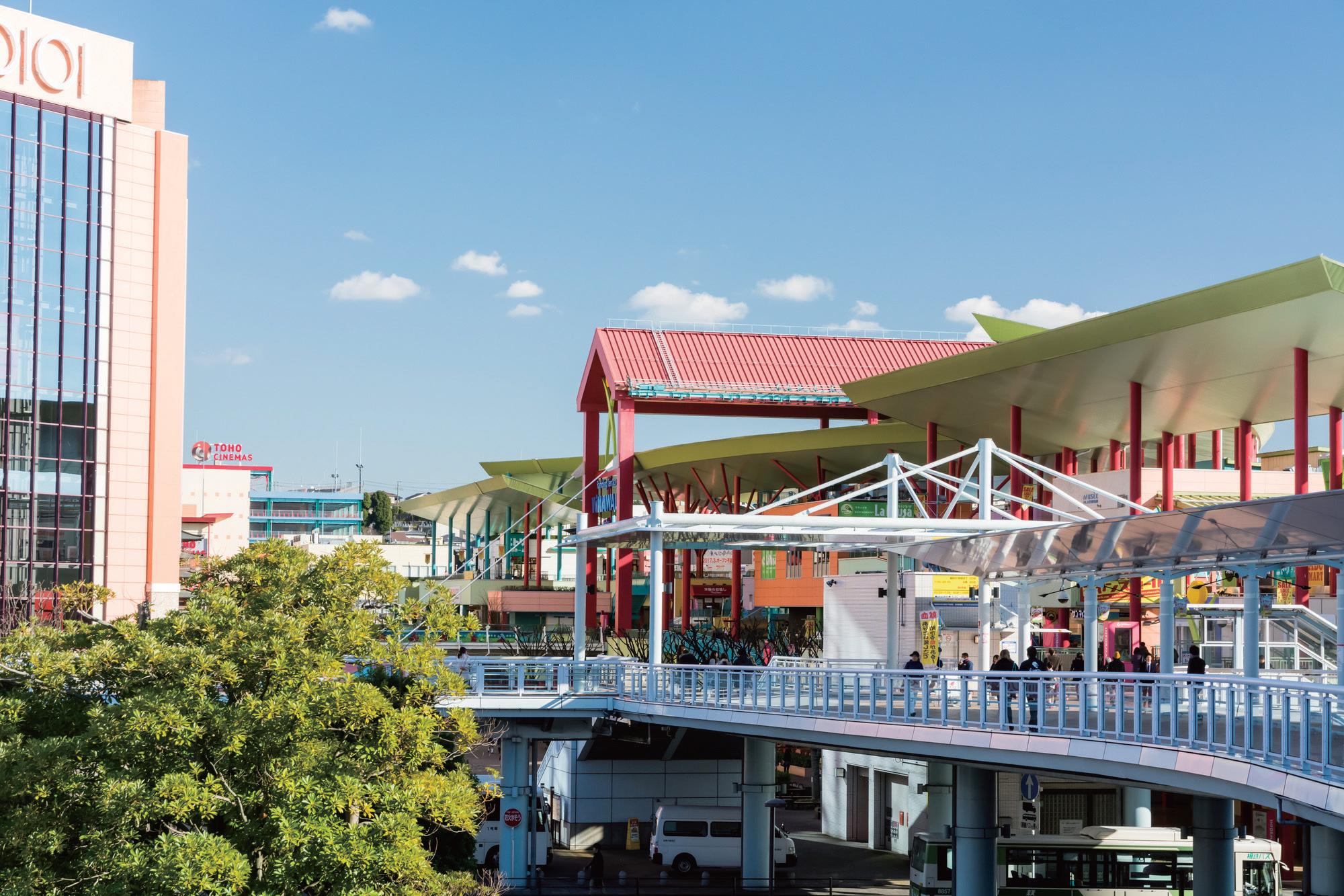 海老名駅周辺の「ビナウォーク」