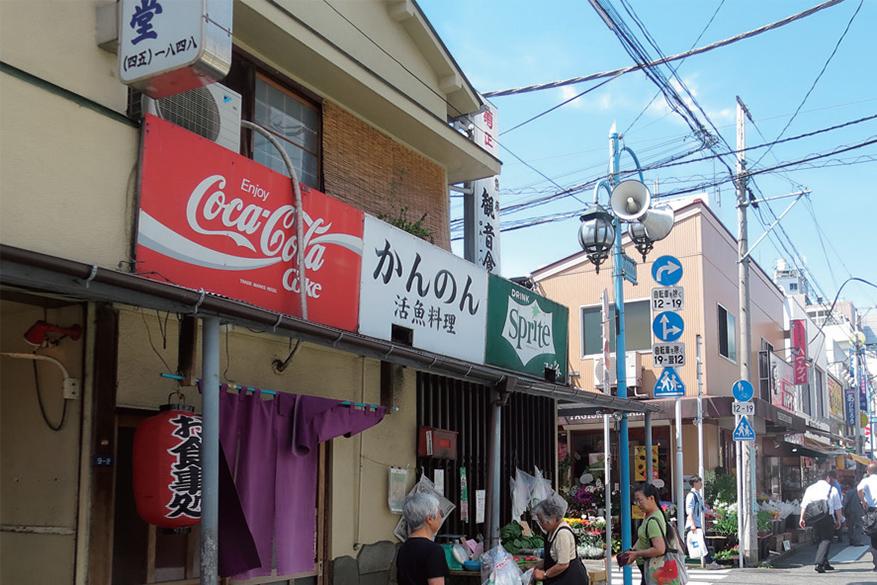 大船観音寺の門前町、大船仲通商店街