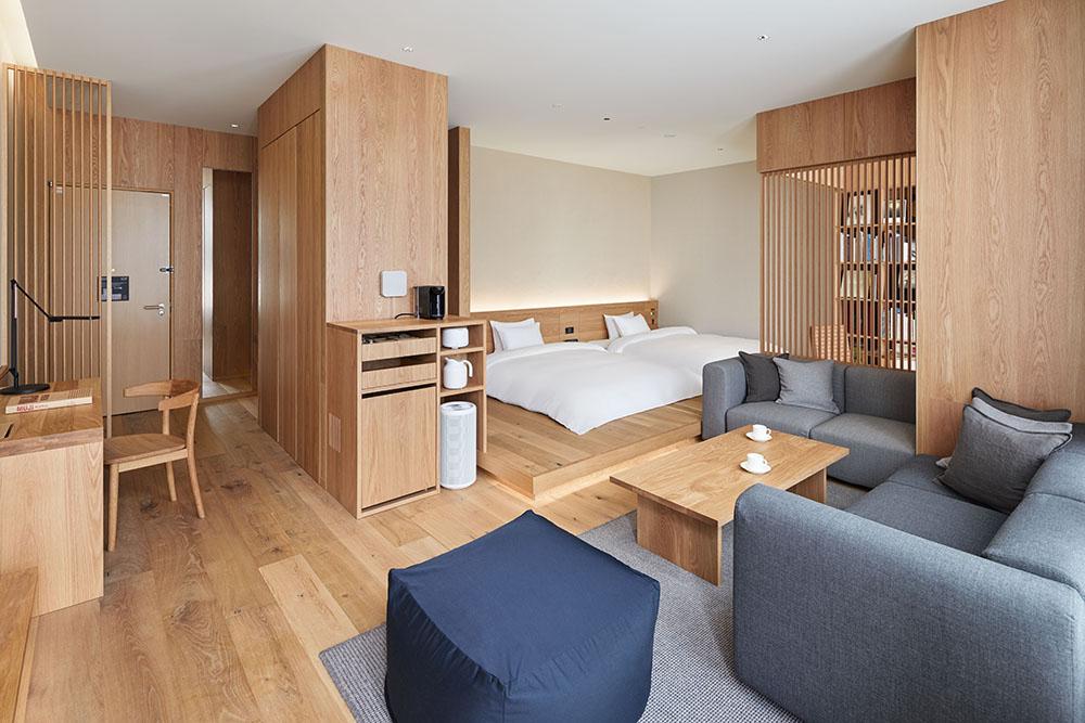 MUJI HOTEL GINZAのTYPE Iのお部屋の写真