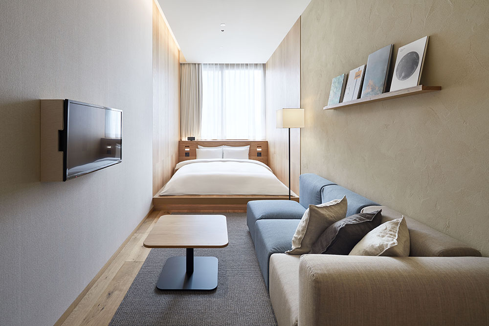 MUJI HOTEL GINZAのTYPE Cのお部屋の写真