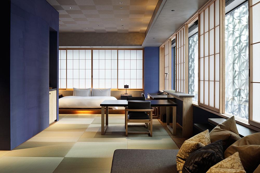 星のや東京の客室『菊』の写真