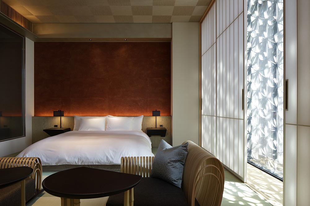 星のや東京の客室『桜』の写真