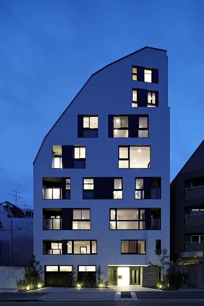 窓の位置や形を住戸ごとに変えられるのもコーポラティブハウスの特徴
