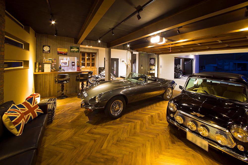 車や部屋に合う無垢の床材 内観