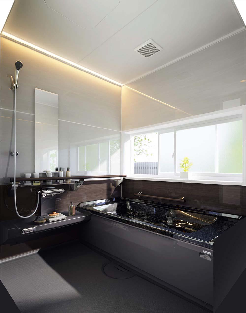 人大の高断熱浴槽を採用した「アクリアバス」