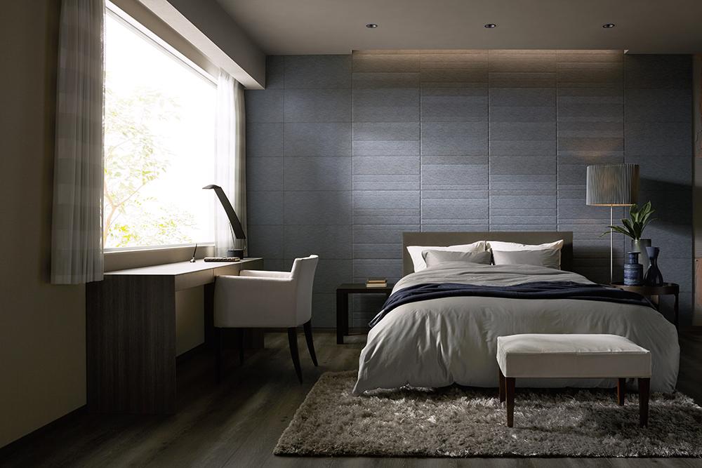 調湿や脱臭機能のある壁材