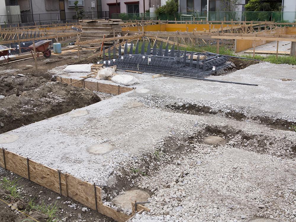 地盤改良工事、特殊基礎工事