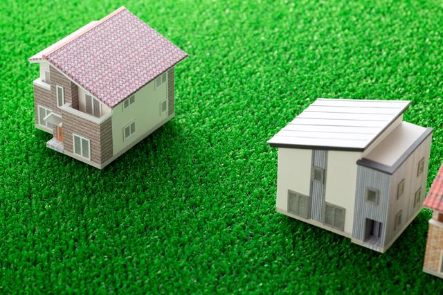 家のミニチュアの写真