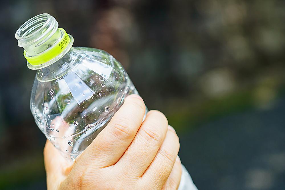 ペットボトル飲料の写真