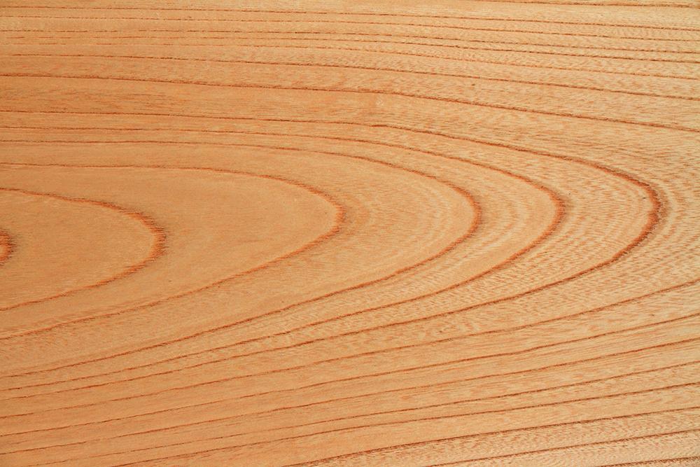 ケヤキの床材