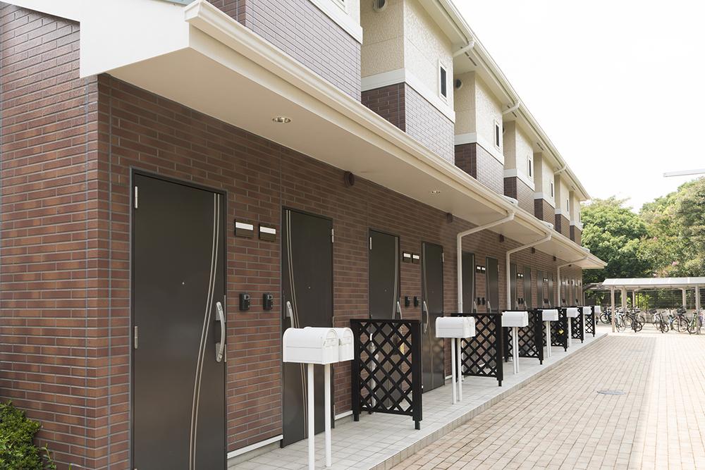 2階立て賃貸アパートイメージ