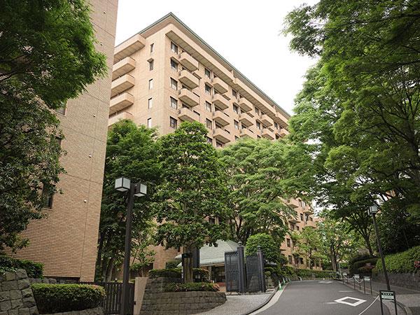 広尾ガーデンヒルズ・門