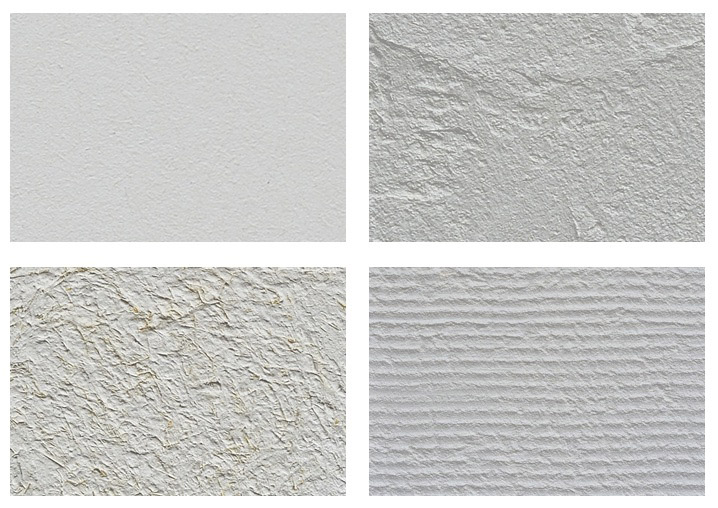 漆喰の外壁例
