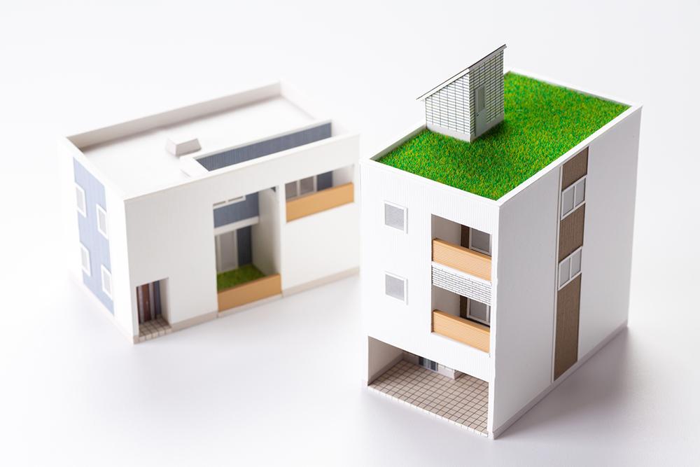 アパートとマンション