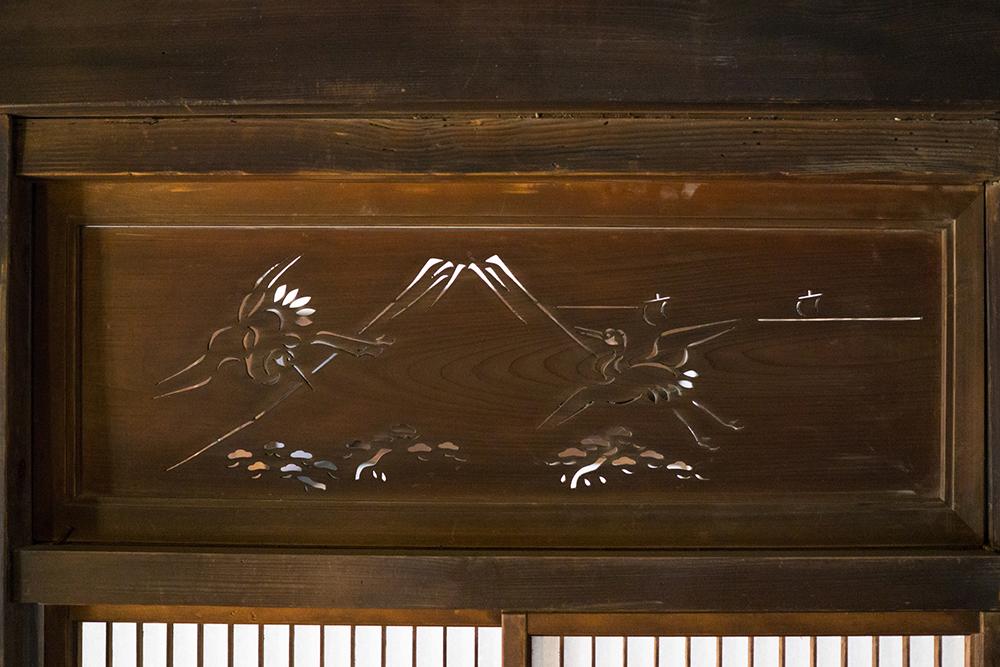 透かし彫り欄間・板欄間の説明画像
