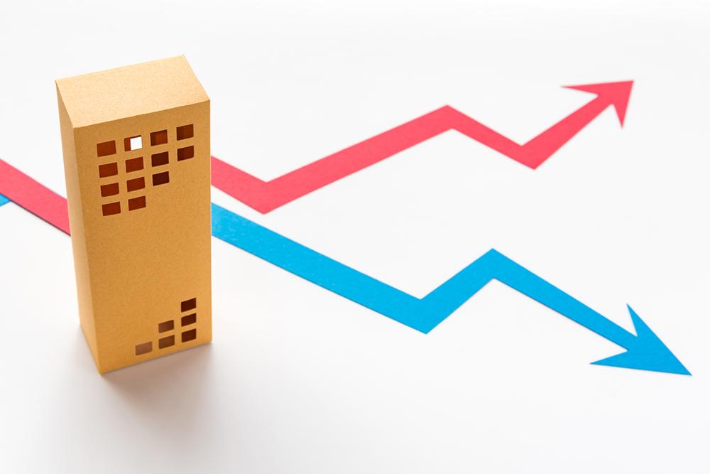 マンションの売却価格は地価を反映する
