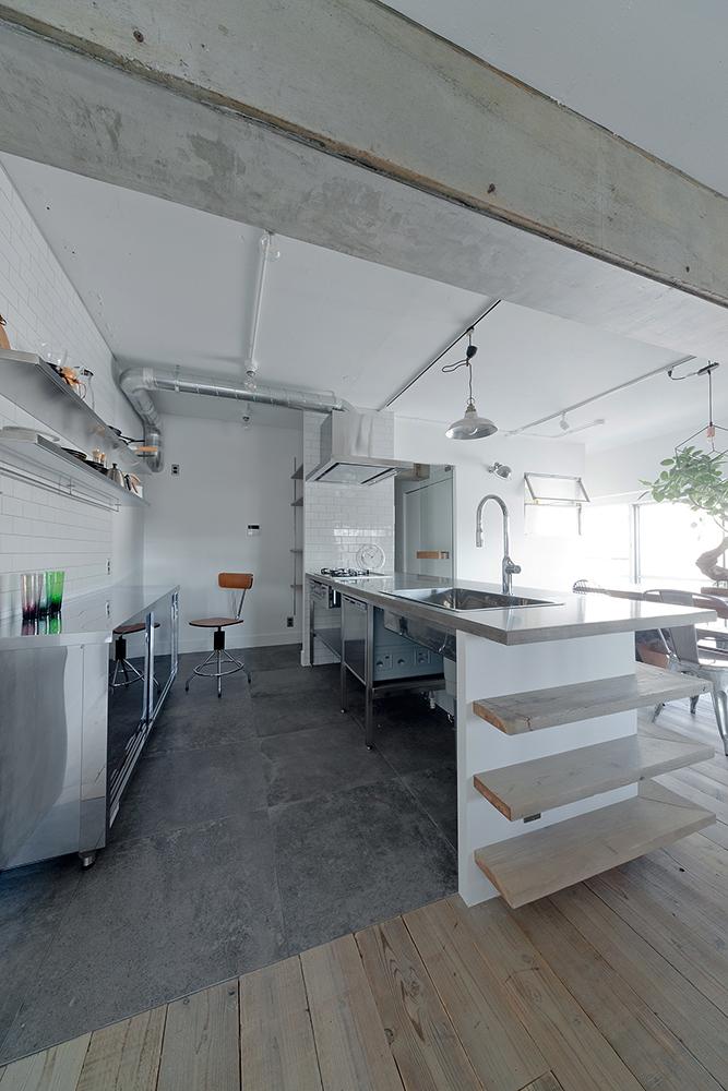 ハコリノベ キッチン