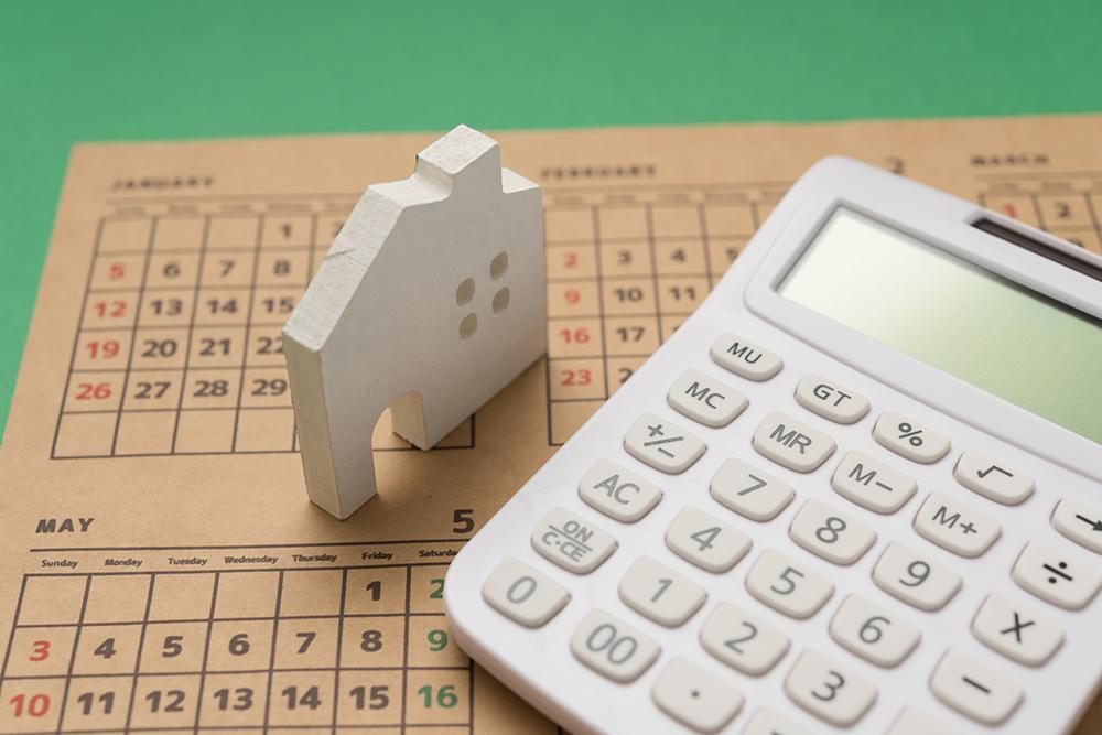 住宅ローンの審査とスケジュールのイメージ