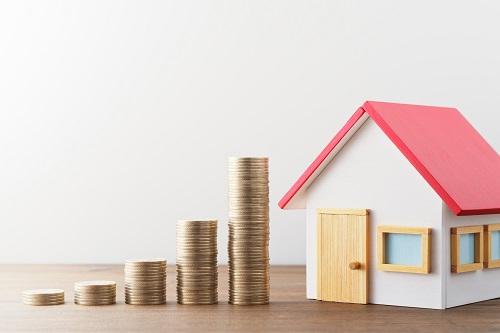家の担保価値のイメージ