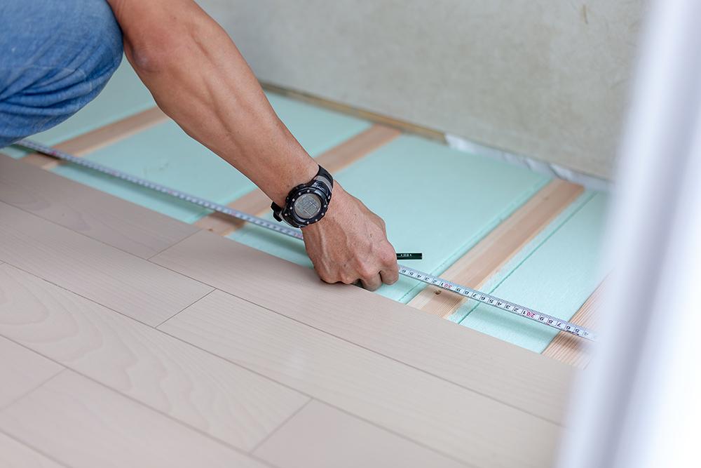 床・フローリング工事のイメージ