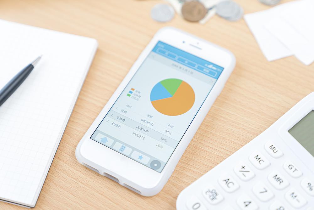 家計簿アプリのイメージ