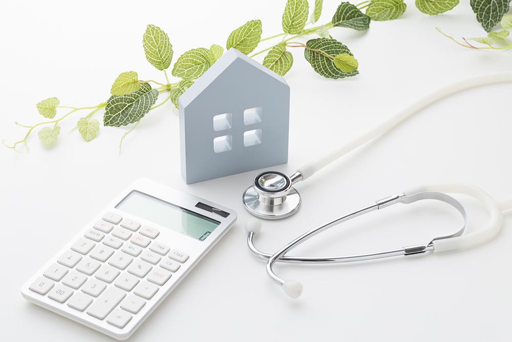住宅性能評価と費用のイメージ