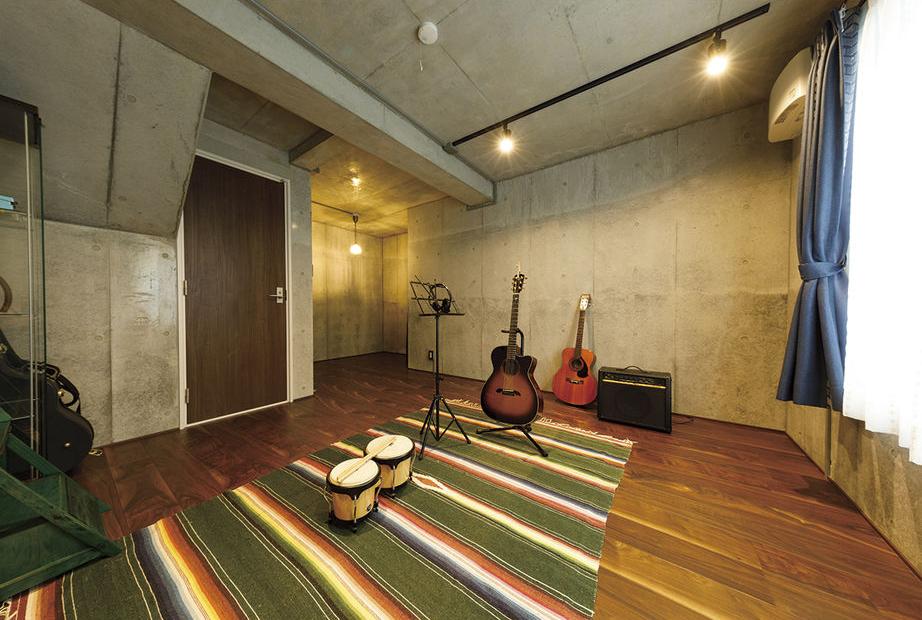 楽器の練習スペースとしての地下室