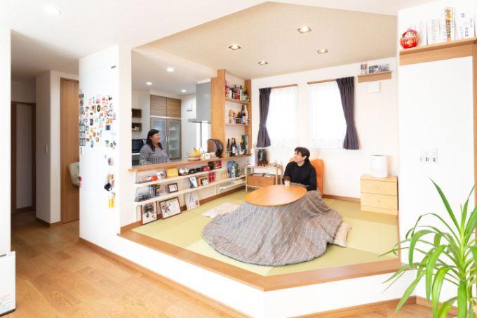 二世帯住宅の実例3のLDK