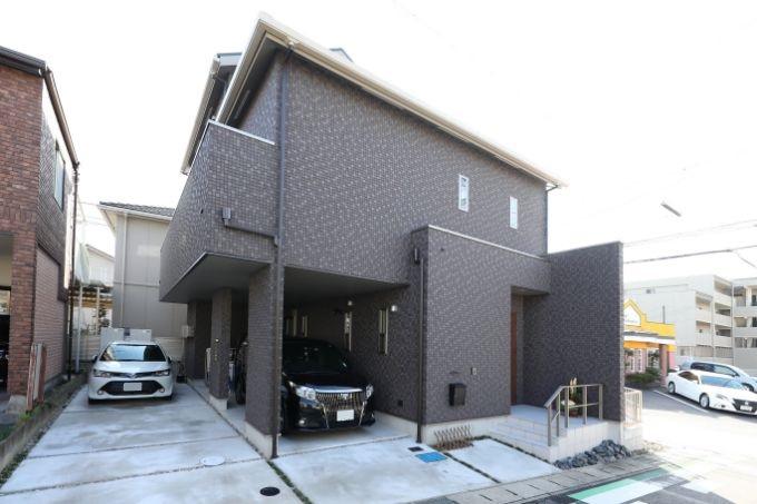 二世帯住宅の実例4の外観