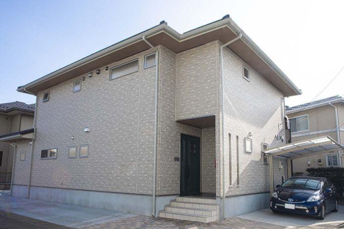 二世帯住宅の実例5の外観