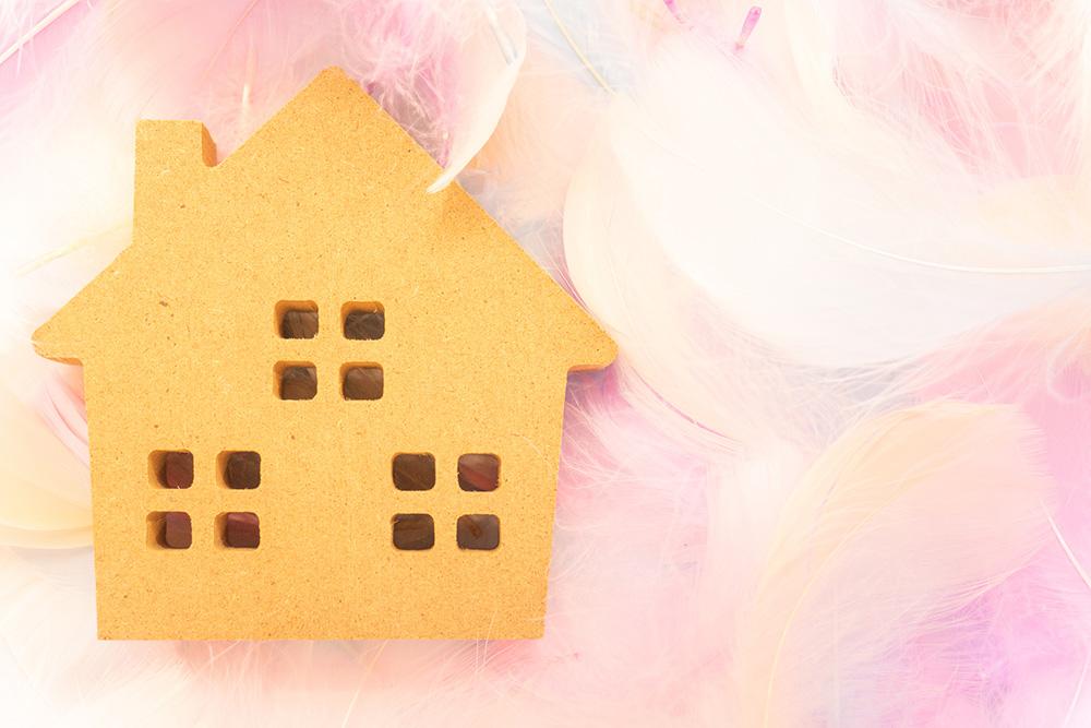 住宅ローンを完済して幸せなイメージ
