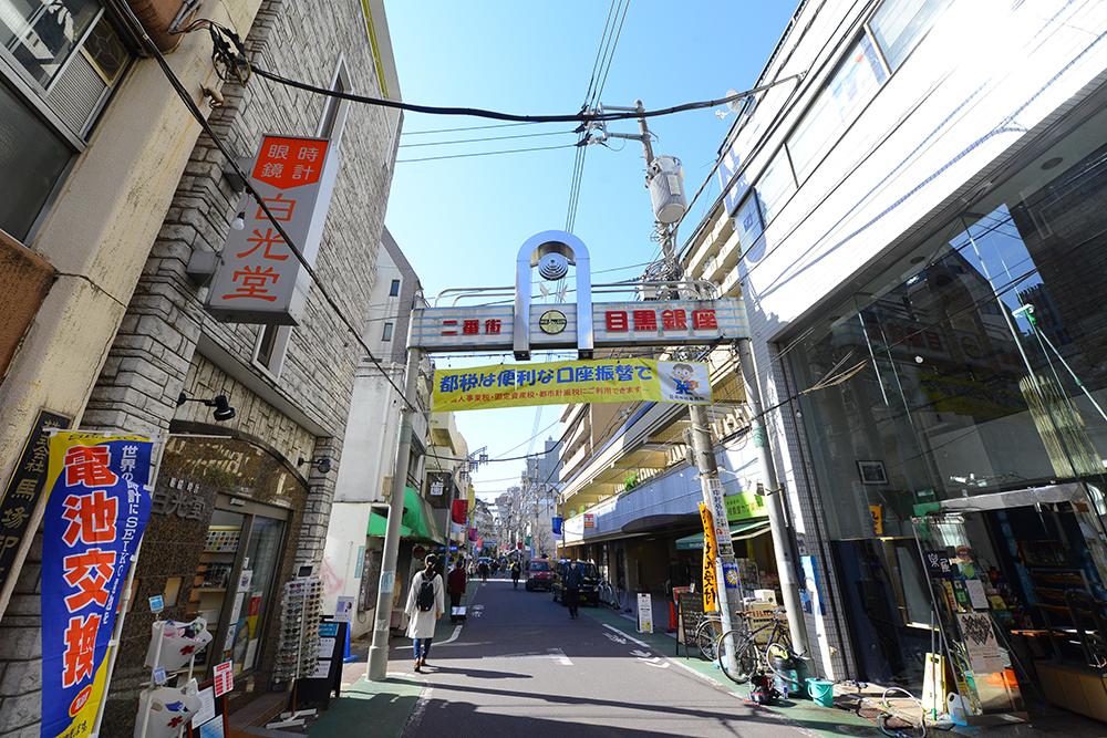 中目黒夏祭りが開催される目黒銀座商店街