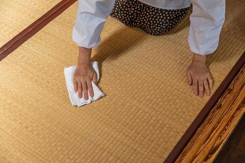 畳の掃除のイメージ