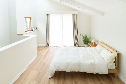 ベッドの配置のイメージ