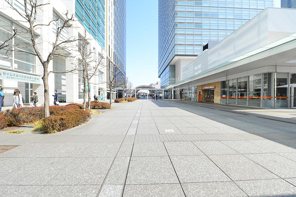 さいたま新都心の道路