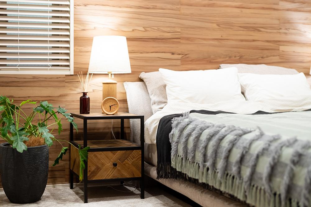マンションの寝室のイメージ